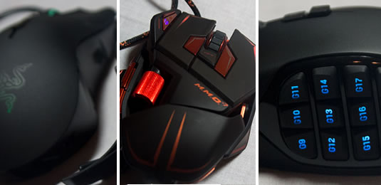 MMO Gaming Mice Roundup