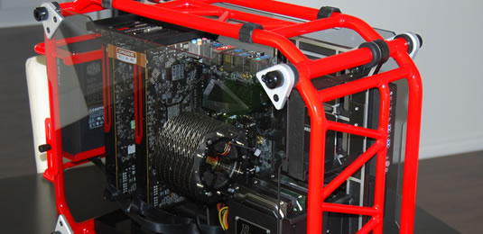 In Win D-Frame Red Case Review