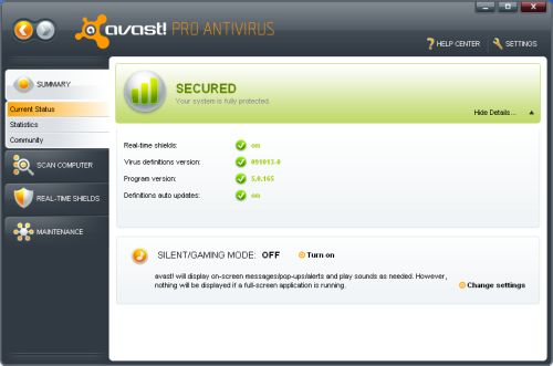 avast version 4.8 edition familiale