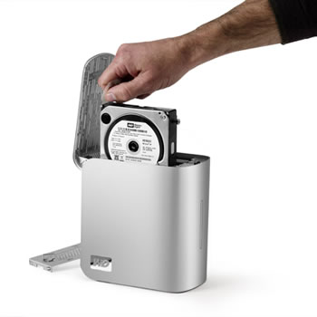 how to use external hard drive as new hard drive