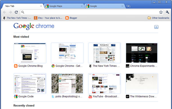 Google releases Chrome 6 with an even simpler UI - TechSpot