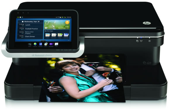 how to connect hp officejet 100 mobile printer to android