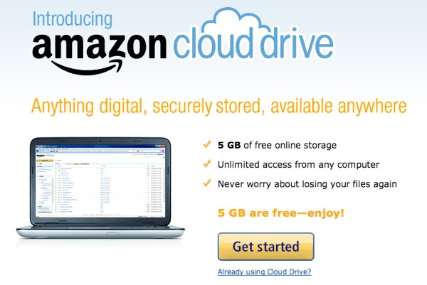 Amazon unveils Cloud Drive: your music available anywhere - TechSpot