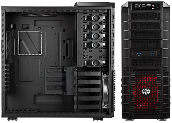 Cooler Master Haf 932 Gets Usb 30 Black Interior Techspot