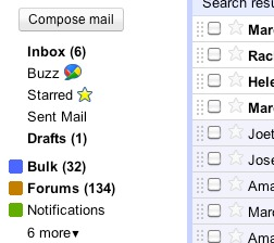 Gmail Smart Labels