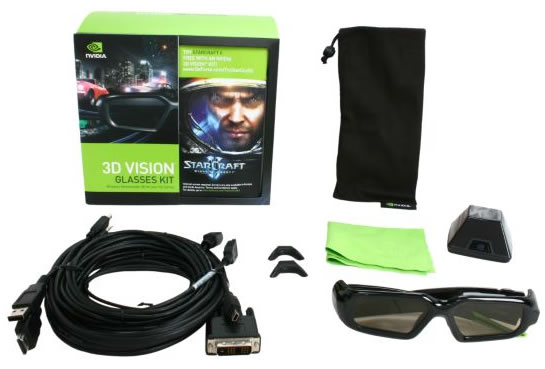 Nvidia 3d vision kit updated price reduced to 149