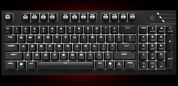 Cooler master intros 100 compact mechanical keyboard with Small size piano