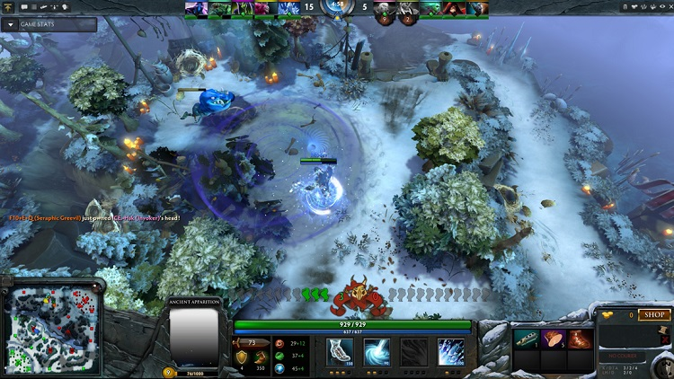Valve brings back Frostivus to DOTA 2