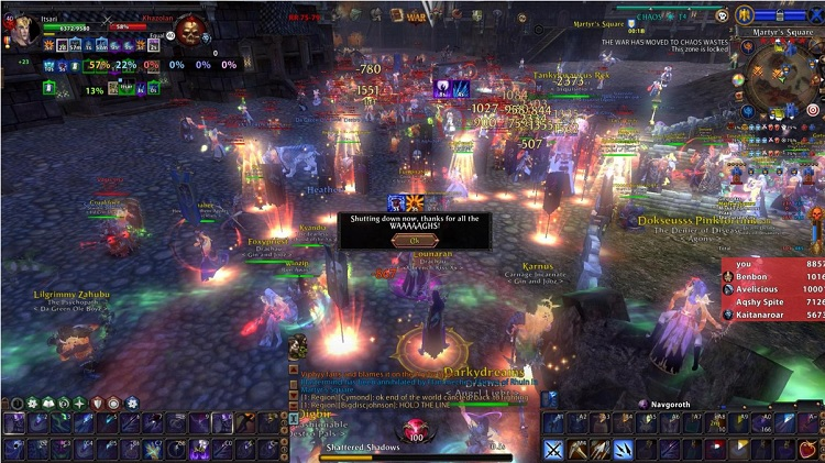 Mythic Entertainment has officially shut down the servers for its Warhammer Online: ...