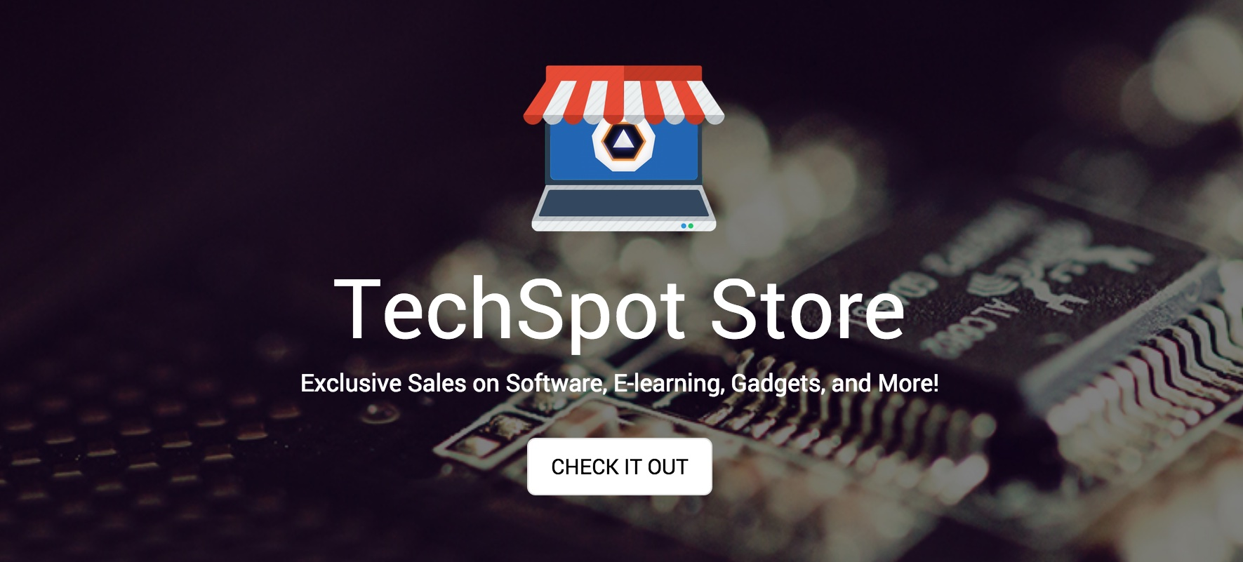 TechSpot Store Debuts: Get deals on gadgets, software & more