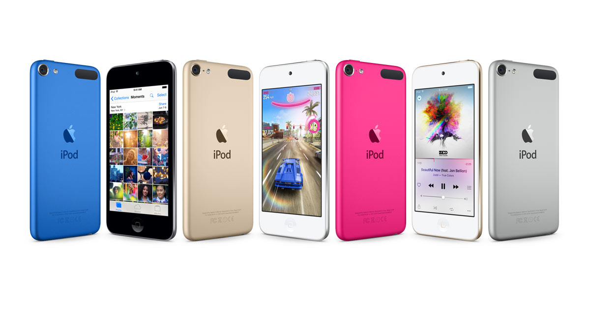 Apple discontinues iPod nano and shuffle, increases storage on iPod touch