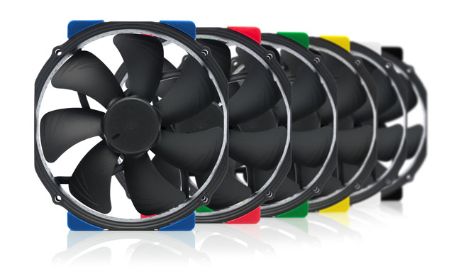 Noctua introduces Chromax line in six colors other than brown