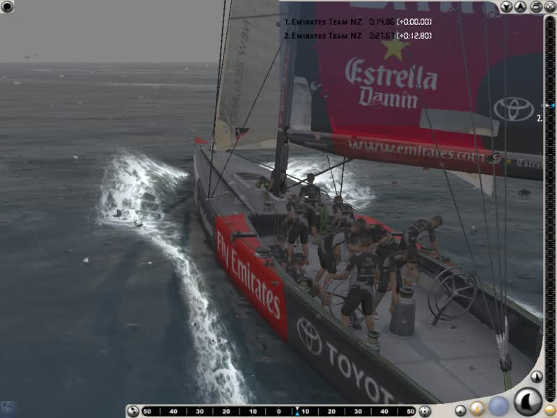 Virtual Skipper 5: 32nd Americas Cup