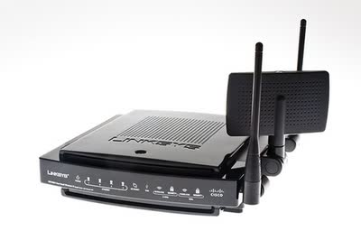 Linksys WRT600N Dual Band Wireless-N Gigabit Router