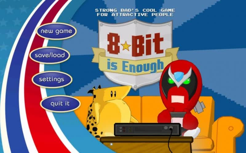 Strong Bads Cool Game for Attractive People - Episode 5: 8-bit is Enough