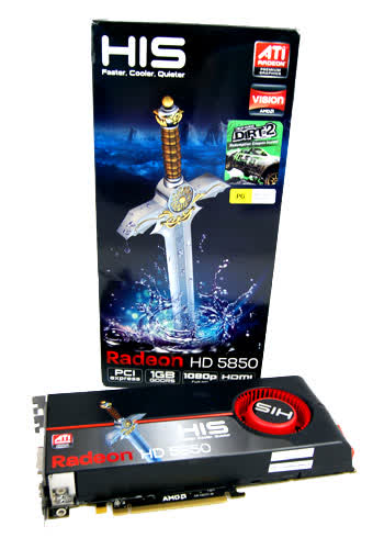 HIS Radeon HD 5970 2GB PCIe