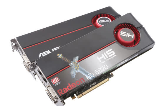 HIS Radeon HD 5870 1GB PCIe H587F1GDG