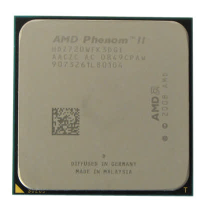 AMD Phenom 2 X3 720 Black Edition 2.8GHz AM2+ / AM3