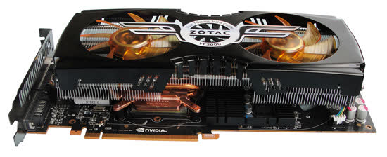 Zotac GeForce GTX 480 AMP! Edition 1.5GB GDDR5  PCIe