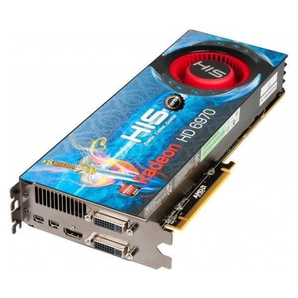 HIS Radeon HD 6970 2GB GDDR5 PCIe