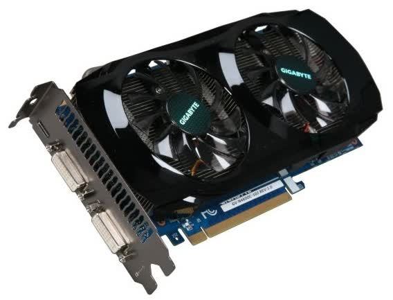 Gigabyte GeForce GTX 460 OC 1GB PCIe
