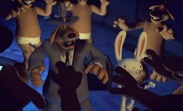 Sam and Max: They Stole Maxs Brain!
