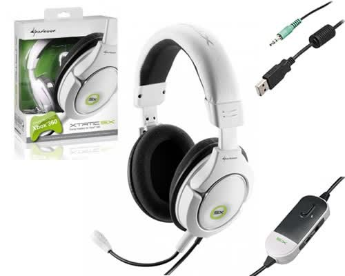 Sharkoon X-Tatic SX Xbox 360 Headset