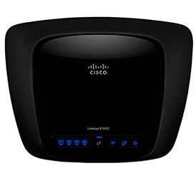 Linksys E1000 Wireless-N Router
