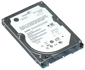 Seagate Momentus XT Solid State Hybrid 320GB SATA300