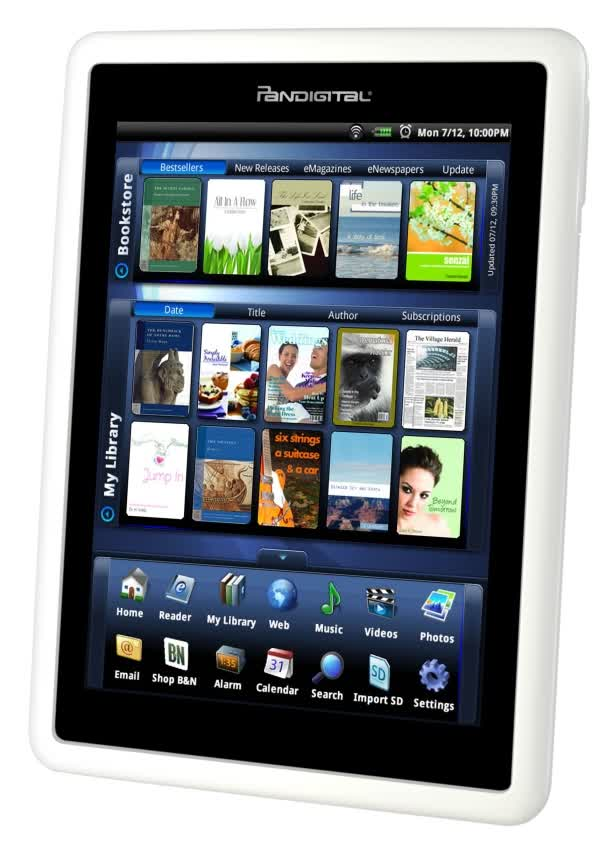 Pandigital Novel eBook Reader