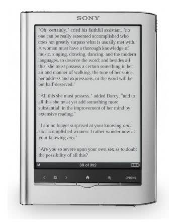 Sony Reader PRS-650 Touch Edition