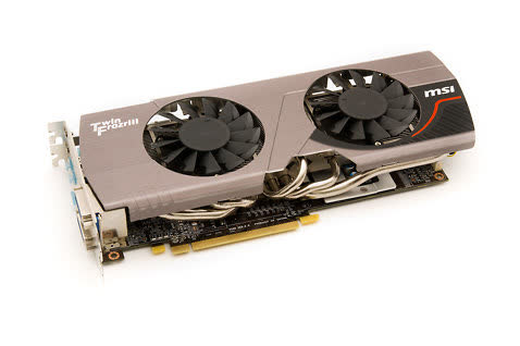 MSI Radeon HD 6950 Twin Frozr 3 Power Edition 2GB GDDR5 PCIe