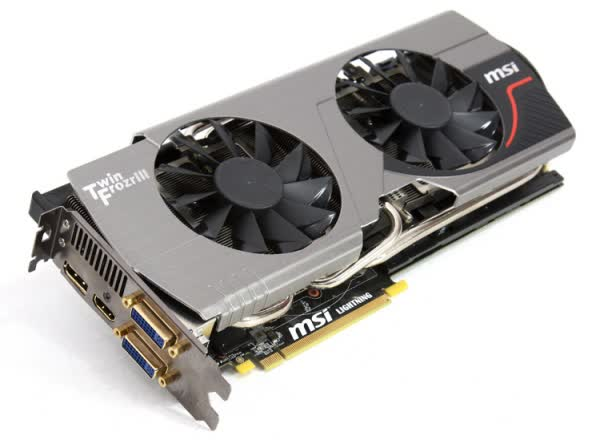 MSI GeForce GTX 580 Lightning 1.5GB GDDR5 PCIe