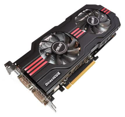 Asus GeForce GTX 560 Ti DirectCU 2 TOP 1GB GDDR5 PCIe