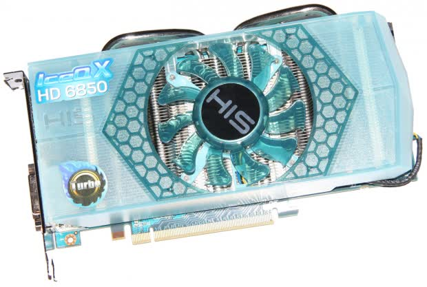 HIS Radeon HD 6850 IceQ X Turbo 820MHz 1GB GDDR5 PCIe