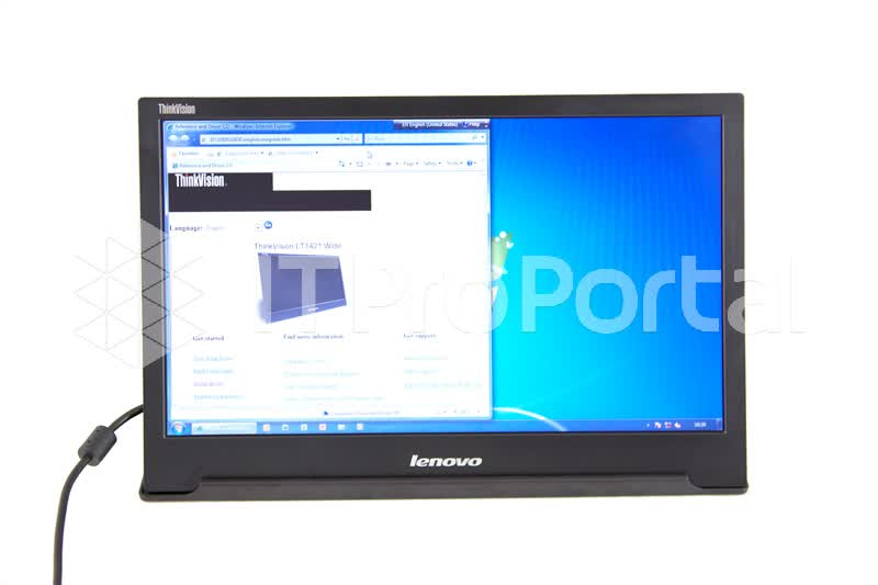 Lenovo LT1421 portable monitor