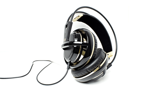 SteelSeries Siberia V2 Black & Gold Special Edition