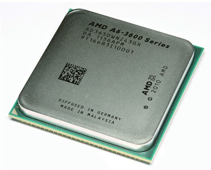 AMD A6-3650 2.6GHz Socket FM1