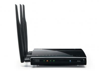Buffalo WZR-HP-G450H AirStation High Power N450 Gigabit Wireless Router