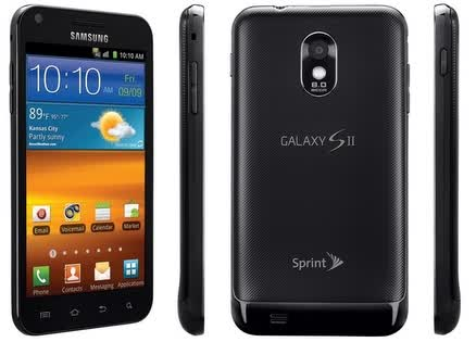 Sprint SPH-D710 Epic Touch 4G