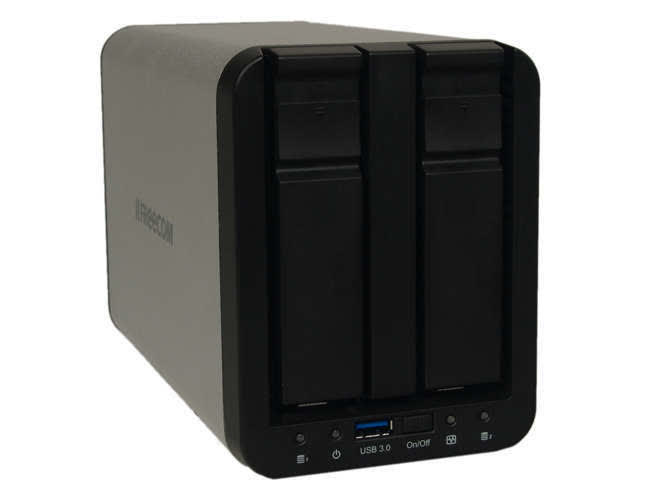 Freecom Silver Store 2-Drive NAS USB3 Reviews - TechSpot