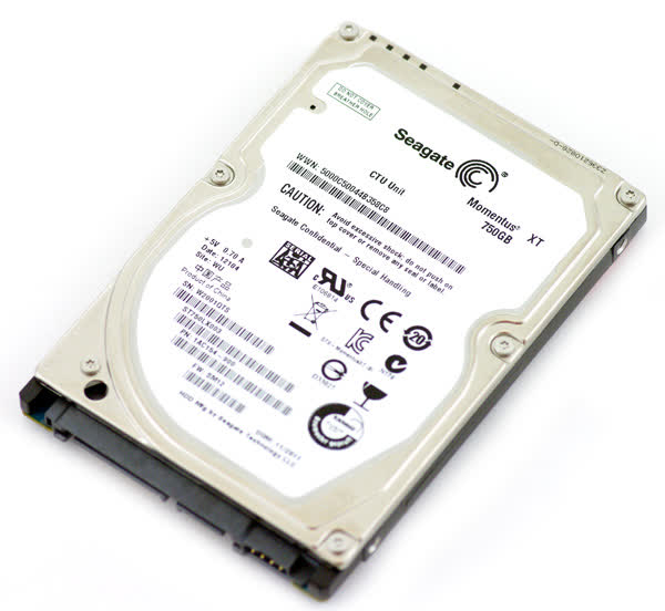 Seagate Momentus XT Solid State Hybrid 750GB SATA600