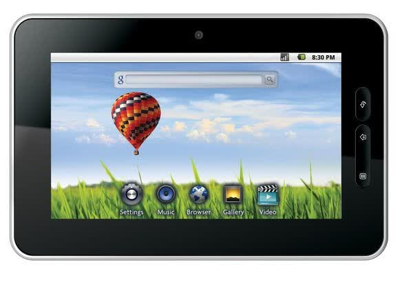 Storage Options Scroll Tablet PC