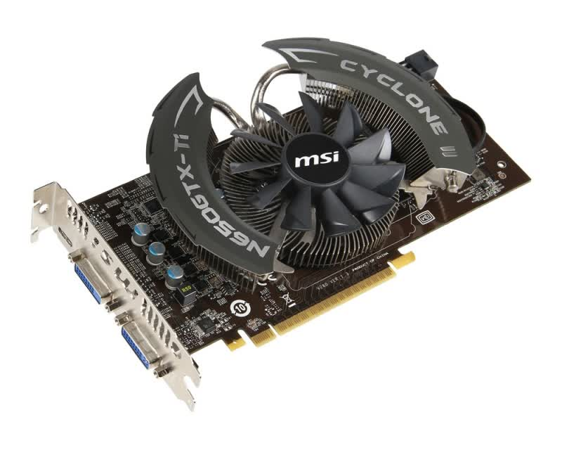 MSI GeForce GTX 650 Ti Power Edition OC 1GB GDDR5 PCIe