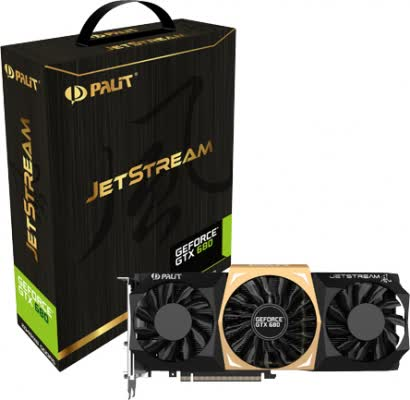 Palit GeForce GTX 680 JetStream 2GB GDDR5 PCIe