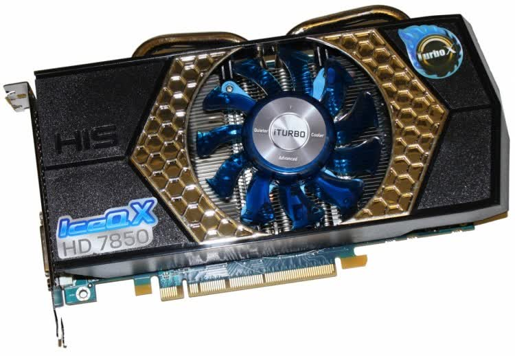 HIS Radeon HD 7850 IceQ X Turbo X 2GB GDDR5 PCIe