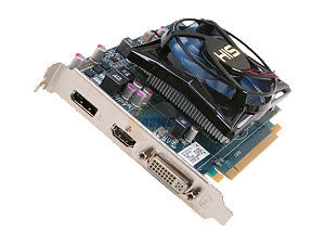 HIS Radeon HD 7750 iCooler 1GB GDDR5 PCIe