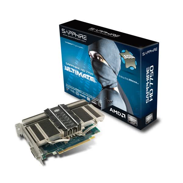 Sapphire Radeon HD 7750 Ultimate Edition 1GB GDDR5 PCIe