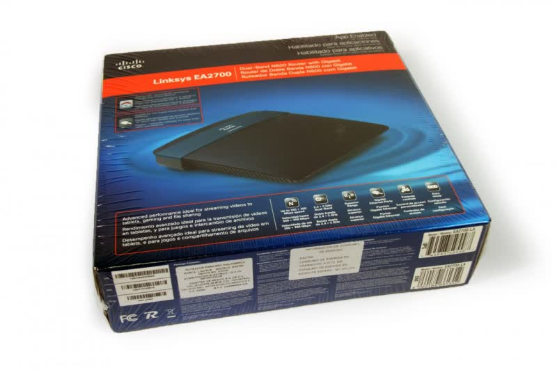 Linksys EA2700 App Enabled N600 Dual-Band Wireless Router