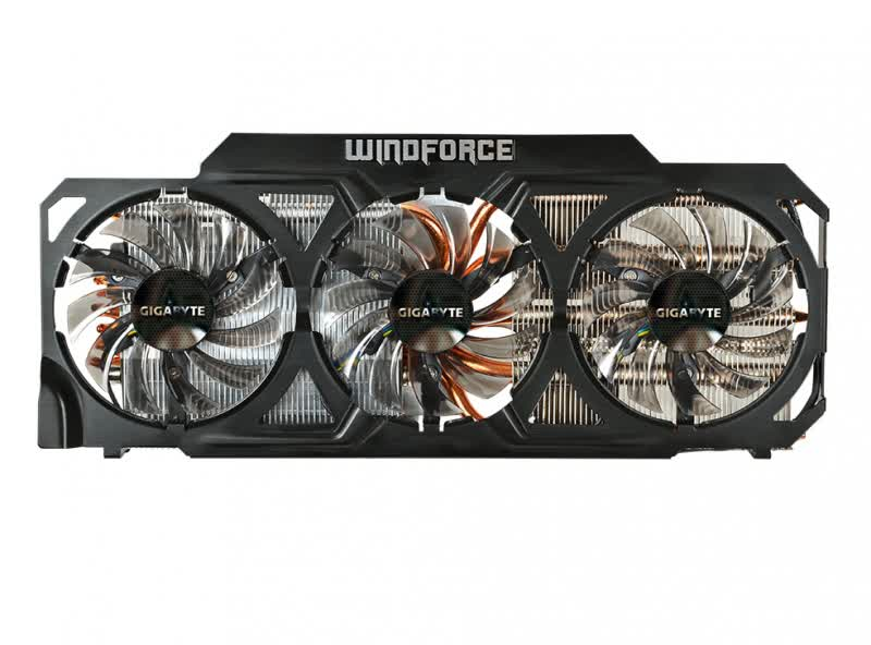 Gigabyte GeForce GTX 760 WindForce 3x OC 2GB GDDR5 PCIe